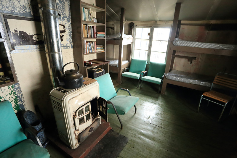 British Wordie House,Winter Island. 65˚15'S, 64˚16'W Located in the Argentine Islands.  Est 1935-Closed in 1954.   Inside the hut