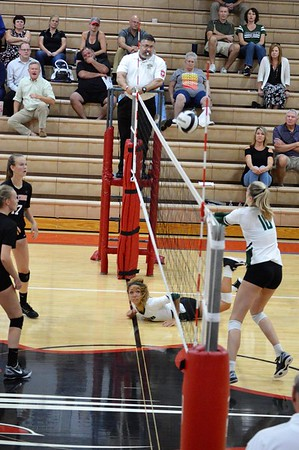 Volleyball vs Pendleton Heights (9/20/17)