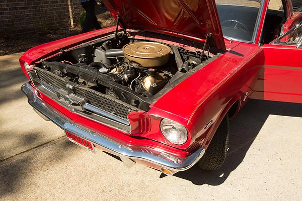 Debbie's Dad's 1965 Mustang