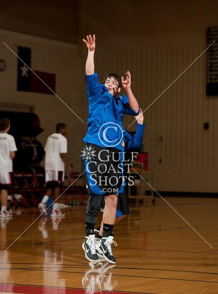 2011-01-25 Basketball Varsity Boys Houston Christian @ St. John's