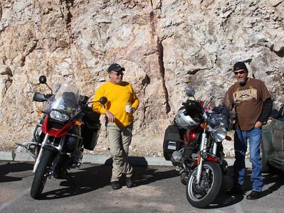 Boulder Dam Bridge ride 2010
