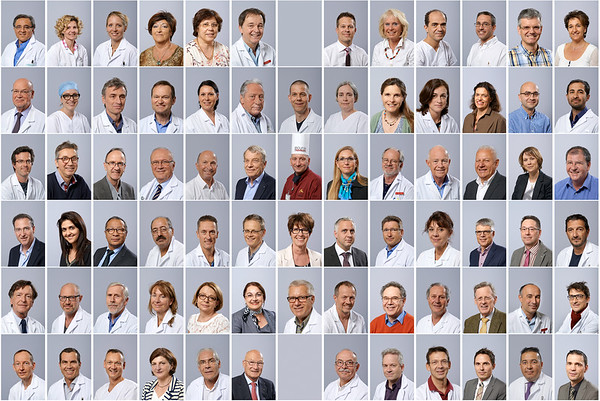 Portraits en blouse blanche, 2014