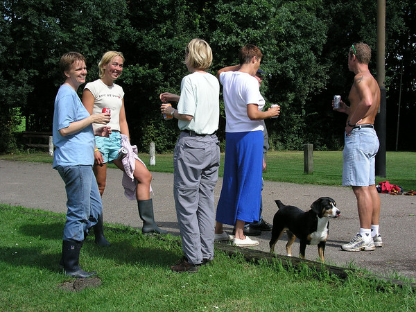 Klusdag KC Delft 14 augustus 2004
