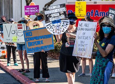 Oct 17 San Mateo Women's March Rally