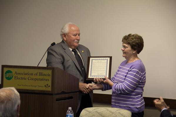 AIEC Board - Stan Prox Recognition
