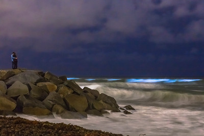 Bioluminescent Red Tide in San Diego County May 2018