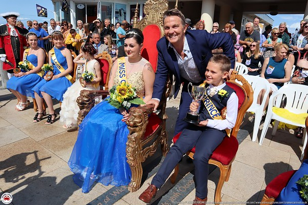 The Crowning of Miss Cromer with Bradley Walsh