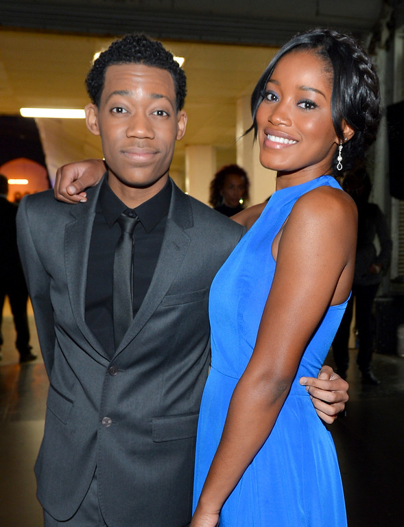 . LOS ANGELES, CA - FEBRUARY 01:  Actor Tyler James Williams (L) and actress Keke Palmer attend the 44th NAACP Image Awards at The Shrine Auditorium on February 1, 2013 in Los Angeles, California.  (Photo by Alberto E. Rodriguez/Getty Images for NAACP Image Awards)