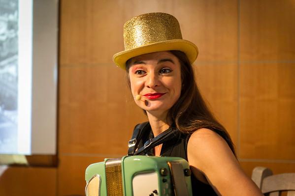 Annika Krump at Deutsches Haus @ NYU October 2012