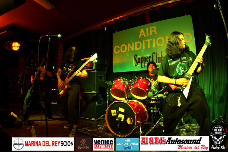 For booking and information. Westside Metal Alliance. http://www.westsidemetalalliance.com Air Conditioned Supper Club. 625 Lincoln Blvd. Venice, Ca 90291http://www.airconditionedbar.com. Photo by Venice Paparazzi. http://www.venicepaparazzi.com