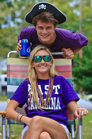 ECU Family Weekend Football and Tailgate party