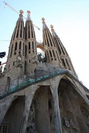 Mediterranean Cruise -- Barcelona and the ship