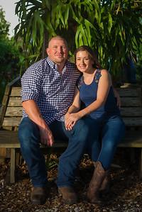 Heather and Ryan's Engagement Session - History Park, Punta Gorda, FL