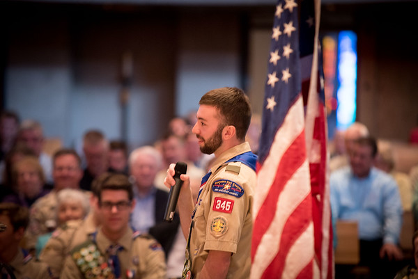 Troop 345 Eagle Scout Court of Honor 2016