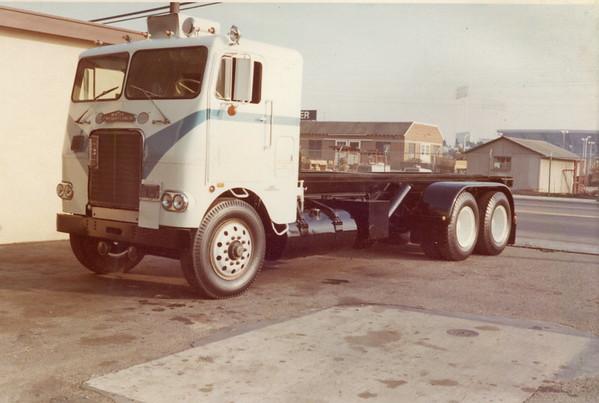 White Freighliner Tall Cab