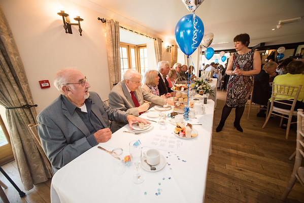 Barbara&Ted Diamond Wedding 60 years married. Tottington Manor Henfield Sussex.