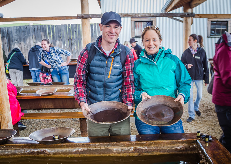 things to do in Alaska - Gold Panning