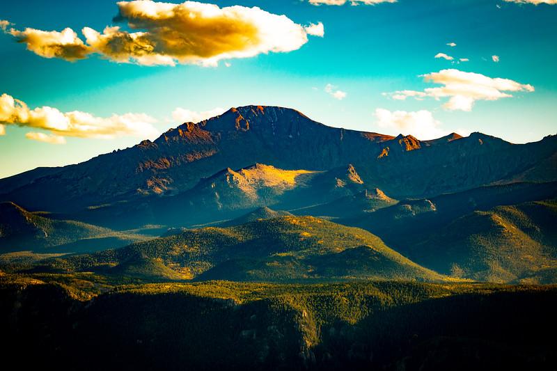 Pikes Peak Sunset