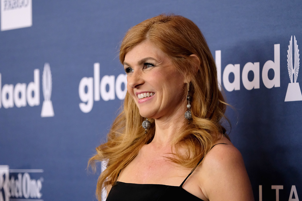 . Actress Connie Britton attends at The 27th Annual GLAAD Media Awards with Hilton at Waldorf Astoria Hotel on May 14, 2016 in New York City.  (Photo by D Dipasupil/Getty Images for Hilton)