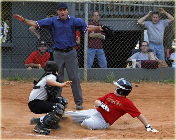 Winthrop Park Baseball: MadDog vs Golden Flake