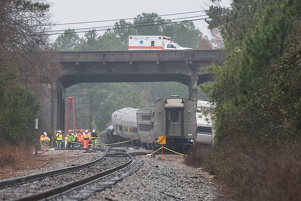 Amtrak Train Wreck