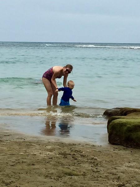 Kjirsten & Leif at Ke'e Beach