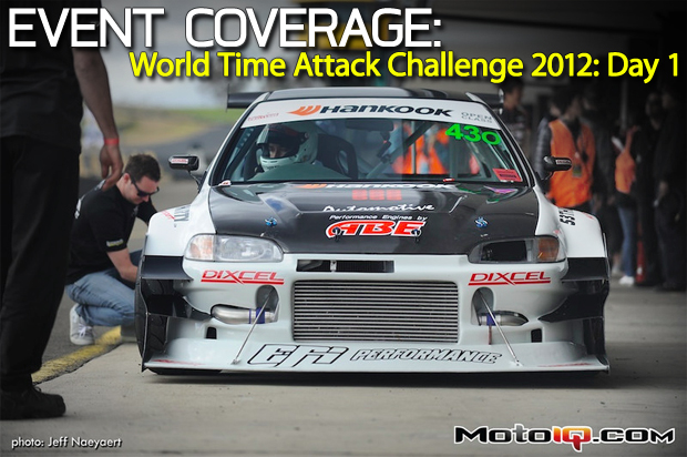 World Time Attack Challenge 2012 - Competition Day 1
