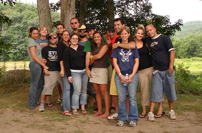 Camping at Lander's River Trips 2005