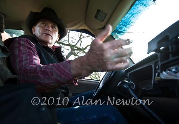 2010-2-26 Vince Shammo at His Anderson, CA Ranch