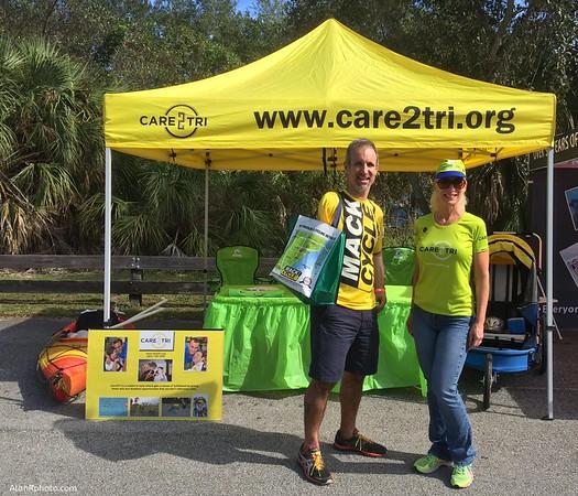 Care2Tri at 2014 Miami Man Expo