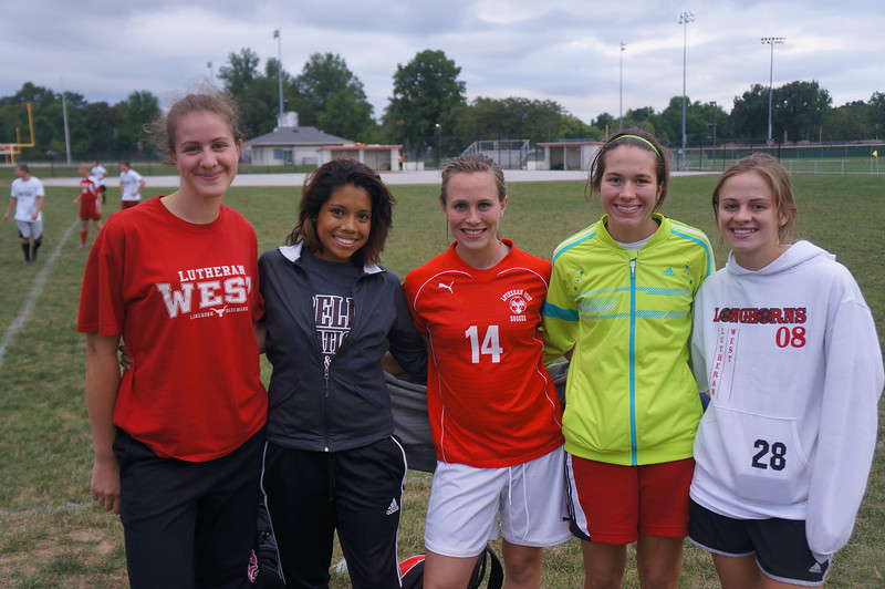 10th Annual Alumni Soccer Game at Lutheran West.