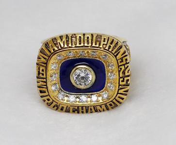 1972 Miami Dolphins Super bowl ring VII