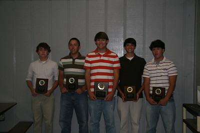 DCS BASEBALL AWARDS 2008