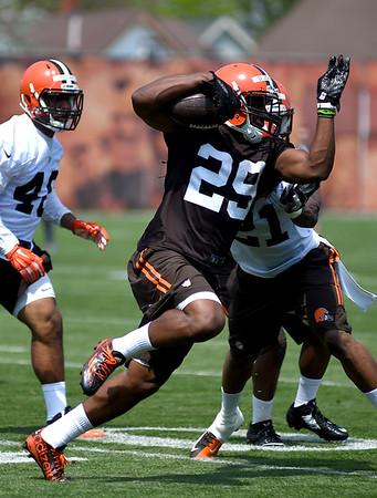 NFL: 2015 Browns rookie minicamp