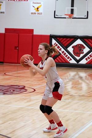 Seneca @ Iowa-Grant Girls Basketball 2-25-20
