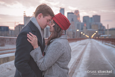MINNEAPOLIS ENGAGEMENT : ELIZABETH +DAVID