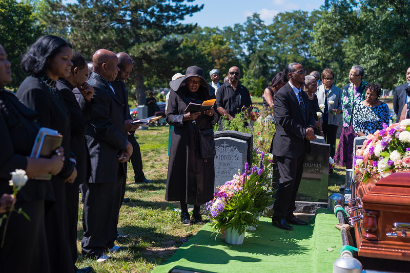 Tauntie Syl's Funeral