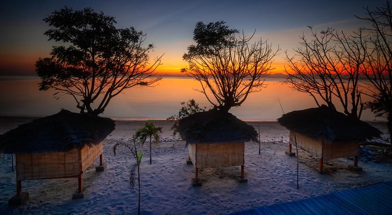 Kalimaya Beach Cabana Sunrise