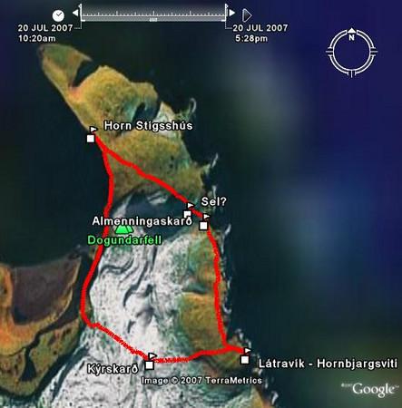 Dagur 7: Hetju fylgt í Látravík
