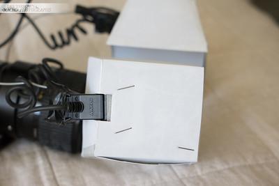DIY Macro Twin Flash Diffusers