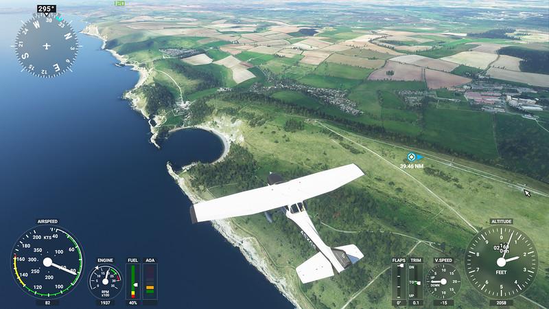 MSFS, Microsoft Flight Simulaor - Sun 23/08/2020@15:44