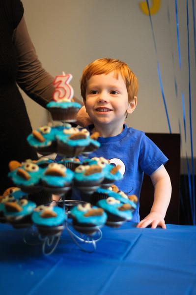 Benjamin 3rd Birthday