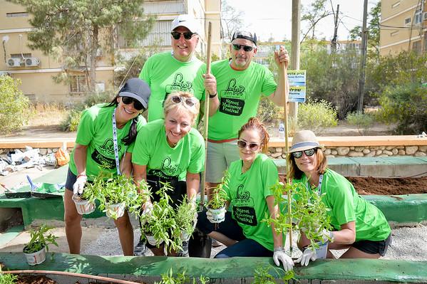 May 14, 2017 - Beer Sheva Volunteering Project