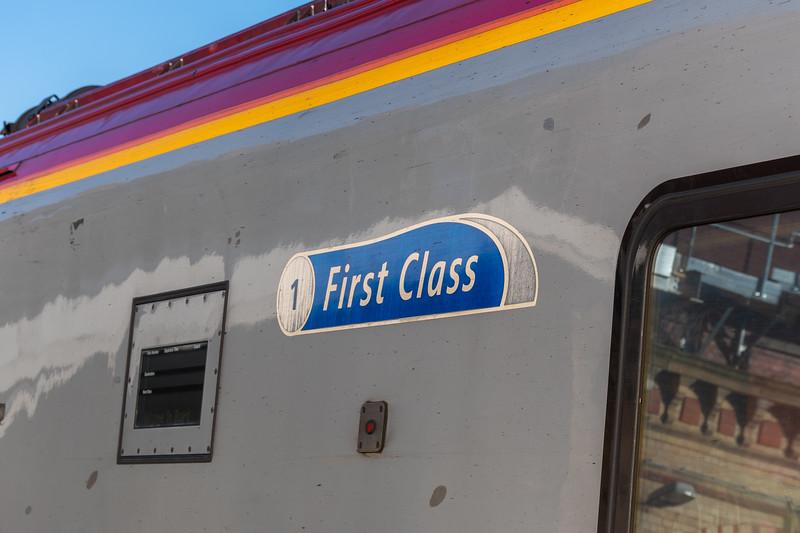 Virgin Trains - First Class Logo