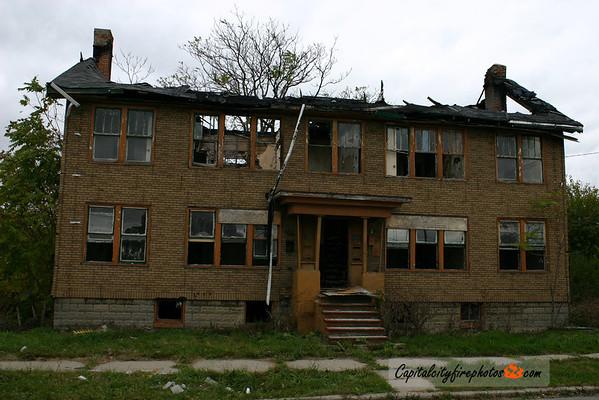 Detroit Miscellaneous Fire and City Scape Photos