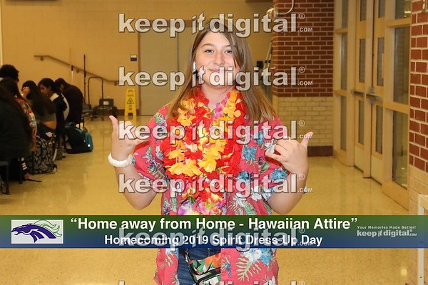 2019 Homecoming - Hawaiian Theme