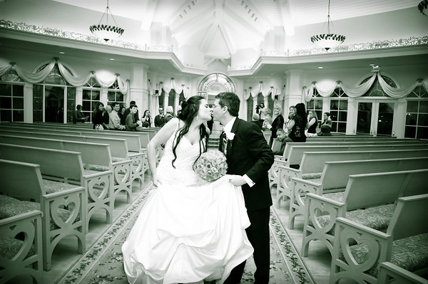 Presentation of Bride and Groom, Kiss, Recessional