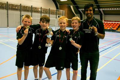 Hørsholm vinder Badminton Sjællands kredsmesterskab i U11D