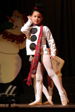 Frosty The Snowman - 1st ballet