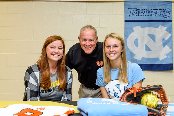 Carson Pace and Hailey Cole - Signing Day